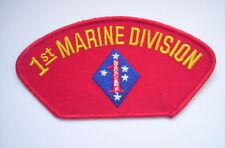 Aufnäher des USMC   1st Marine Division ca 13,5x7 cm