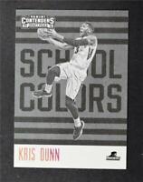 2016-17 Panini Contenders Draft Picks School Colors #6 Kris Dunn - NM-MT