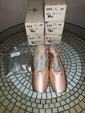 Bloch Serenade MKII Pointe Shoes S2131 Pink, sizes 5B, 3.5 D, 3 B, C, D