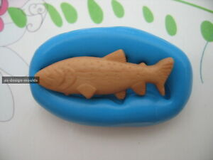 Fish Sea Fishing Silicone Mould/Mold Sugarcraft, Cupcakes,Cake Toppers