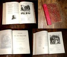 chansons de Béranger anciennes posthumes 161 litho nvelle édition populaire 1866