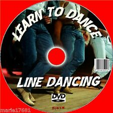 BEGINNERS LESSONS LINE DANCING LEARN 12 LINE DANCE ROUTINES EASY TUTION DVD & CD