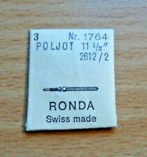 3  ältere,neuwertige Aufzugswelle für Poljot 11 1/2`` 2612/2 DCN 1764