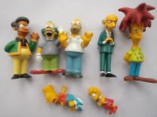 THE SIMPSONS PLASTIC FIGURES LOT OF 7