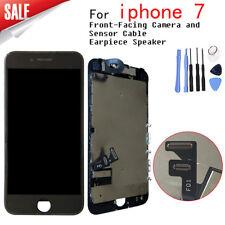 Für Apple iPhone 7 Display RETINA LCD VORMONTIERT Komplett 3D Front Schwarz NEU