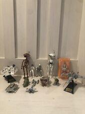 Misc. Lot of Star Wars figures, Vehicles Ships YODA, Obi-Wan Kenobi In Box