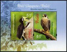 Poland-2019  Animals Fauna Protection of Nature.Birds of Singapore and Poland