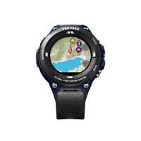 "Casio Men's ""Pro Trek"" Outdoor GPS Resin Sports Watch, Color: Black & Indigo Bl"