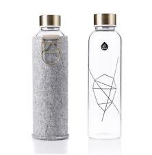 Bio-Schraubverschluss //umweltschonend Trinkflasche aus recyclebarem Glas 0,7 l