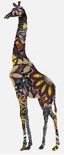 "Giraffe Counted Cross Stitch Kit 7"" x 17""18ct Animals/Insects Designs In Thread"