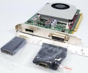 Dell NVIDIA GeForce GT330 Windows 10 DisplayPort DVI HDMI Video Card 09TCD9
