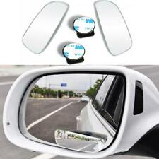 2pcs Universal Car 360° Wide Angle Convex Rear Side View Blind Spot Mirror Free