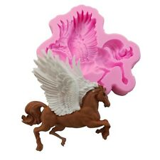Horse Wing Silicone Fondant Mould Chocolate Sugarcraft Cake Mold Baking Tool DIY
