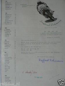 HT003- ORIGINAL AUTOGRAPH SIEGFRIED LOHMANN,MZ,KREIDLER,SIGNATURE,AUTOGRAMM,