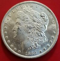 1884 o morgan silver dollar BU GEM