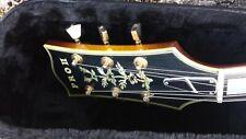 Aria MIJ Vintage 1979 Archtop Guitar Pro II PE-190 Sunburst Floating J Smith p/u