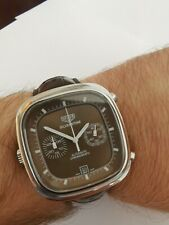 Tag Heuer Silverstone Calibre 11 chocolate dial beautiful