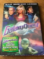 Galaxy Quest Dvd~10 Anniversary~Allen, Weaver, Rickman~2000~Pre-Owned
