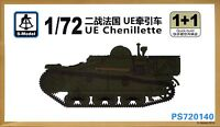 S-Model 1/72 720140 WWII French UE Chenillette (2 Vehicles in Box)
