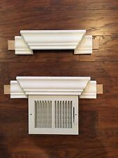 "CROWN MOLDING AC VENT HOOD TRANSITION (10"")"