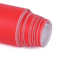150*30cm Blasenfrei Matt Rot Auto Folie Aufkleber KFZ Car Film Wrap Sticker Deko