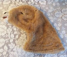 FurReal Friends Replacement Repair Part Fuzzy Head Coat Butterscotch Pony Horse