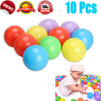 10Pcs Ball Pit Balls Play Kids Plastic Baby Ocean Soft Toy Colourful Playpen Fun