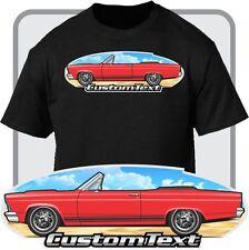 Custom Car Art T-shirt inspired on 1966-67 Ford Fairlane Convertible GTA GT