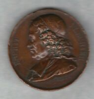 1820 FRANCE ESPRIT FLECHIER BRONZE MEDAL IN VERY FINE CONDITION.