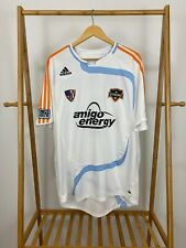 MLS Adidas Houston Dynamo Eddie Robinson #2 Soccer Authentic Signed Jersey XL