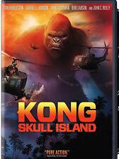 NEW Kong Skull Island DVD 2017 KING KONG SKULLISland Samuel  Jackson King movie