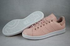 adidas Originals: Women's Stan Smith Patent Leather (Sz. 8) Pink / White BA7498