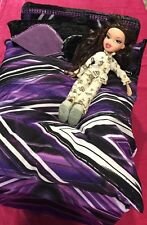 Handmade Barbie Doll Bedroom Furniture Bed/Bedding,DOWN Blanket-Pillows,bratz ++