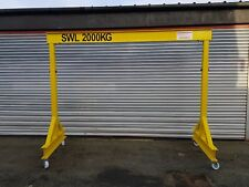 Mobile adjustable 2 ton Lifting gantry A frame Hoist