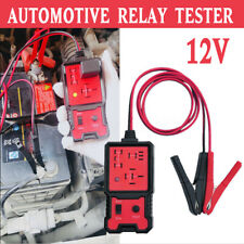 12V Electronic Automotive Relay Tester For Cars Auto Battery Checker Tool