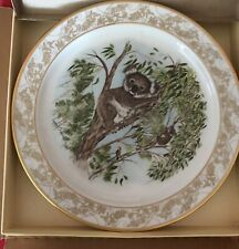 Lenox China Nature's Nursery Plate - Koalas Limited Edition 1985 Lynn Chase Nib