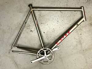Epic aka Everti titanium road frame 58cm super welds, gravel? like Moots Merlin