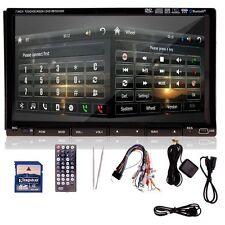 "7""2DIN Auto Lettore DVD Schermo Touch TFT SD USB GPS TV FM Bluetooth RDS Ypsilon"