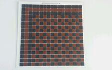 Victorian Mosaic floor tiles  black & red  £57.00 per sqm²