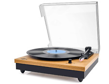 Record Player, VIFLYKOO Bluetooth Portable Vinyl Turntable and Digital Encoder