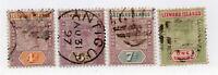 Leeward Islands - SG# 4 - 7 Used        /         Lot 1220800