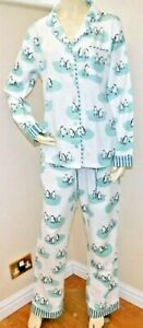 Munki Munki Ladies Classic Flannel Perfect fit  2 Piece PJ Set MED OR LARG BNWT