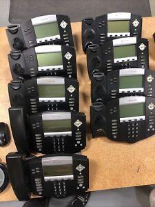 Lot of (9) Polycom SoundPoint IP550 SIP 2201-12550-001  & (2) IP450 2201-12450
