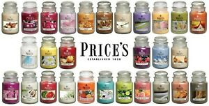 Prices Scented Large Jar Candles 29 Fragrances Scents 150 Hour Burn Time