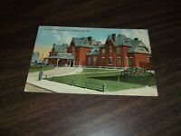 1915 LEHIGH VALLEY RAILROAD WILKES-BARRE, PA DEPOT USED POST CARD