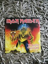 Iron Maiden The number of the Beast Limited 7'' red vinyl