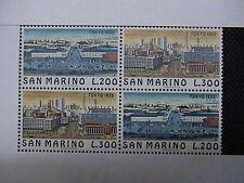 SAN MARINO 1975 2 serie francobolli TEMATICA : CITTA' deI MONDO TOKYO em.002E