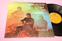 CANTI DI GIOSY LP UNA LUCE TRA LE MANI ORIG ITALY '60 EX