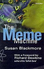 The Meme Machine by Susan Blackmore (Paperback, 2000)