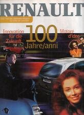Monografia 100 anni Renault , la pubblicazione del centenario 2009 ITA / GER